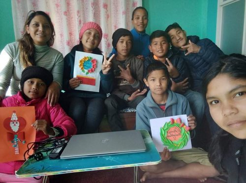 Dankjewel vanuit Nepal!